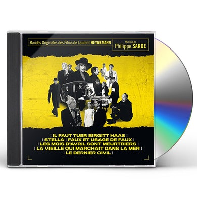 Philippe Sarde FILMS OF LAURENT HEYNEMANN / MUSIC BY PHILIPPE CD