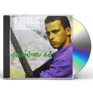 Eros Ramazzotti MUSICA ES (EN ESPANOL) CD
