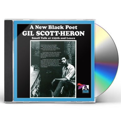 Gil Scott-Heron SMALL TALK AT 12 CD