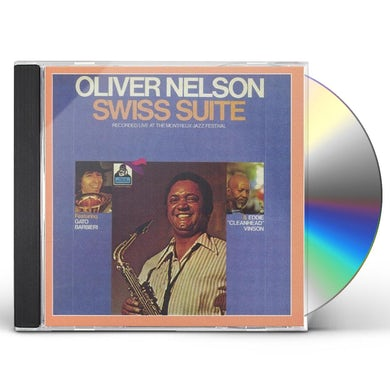 Oliver Nelson SWISS SUITE CD