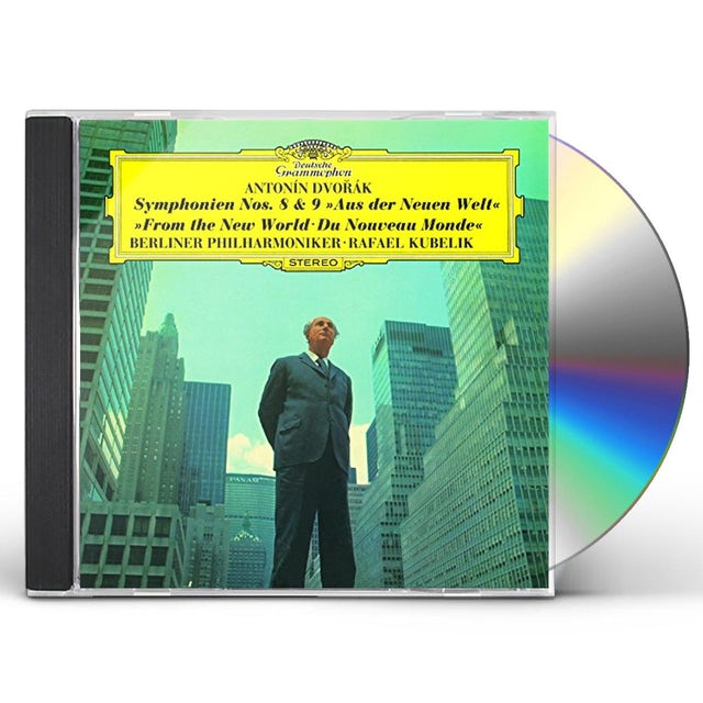 Rafael Kubelik DVORAK: SYMPHONY NO.8 & NO.9 CD
