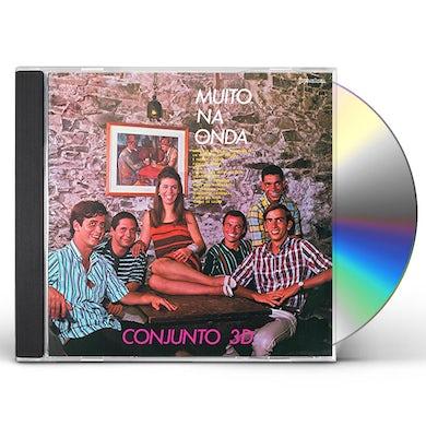Conjunto 3d MUITO NA ONDA CD