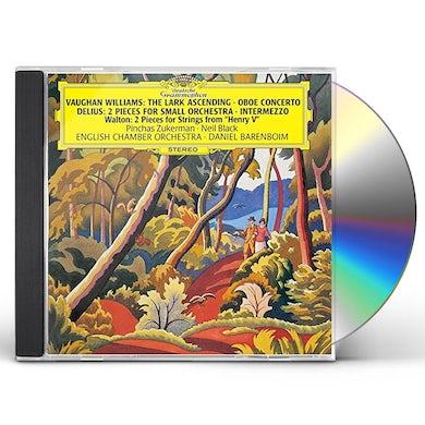 Daniel Barenboim ENGLISH ORCHESTRAL WORKS CD