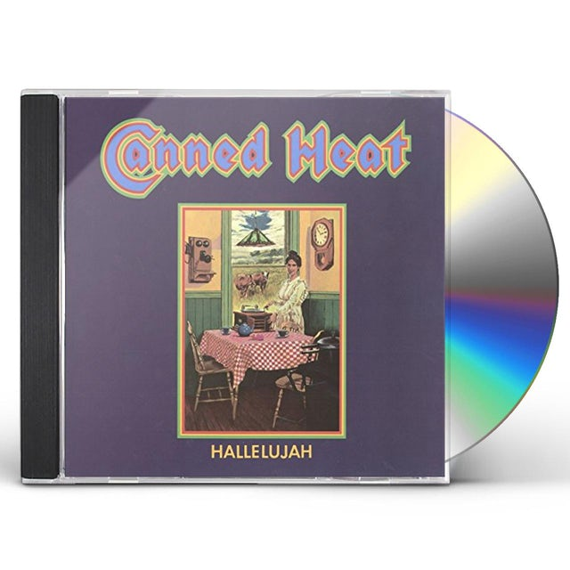 Canned Heat HALLELUJAH: LIMITED EDITION CD