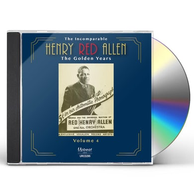 INCOMPARABLE HENRY RED ALLEN THE GOLDEN YEARS 4 CD