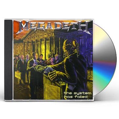 Megadeth SYSTEM HAS FAILED CD