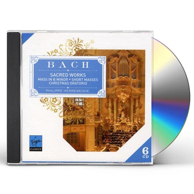 J.S. BACH: SACRED WORKS CD
