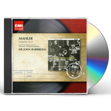 Mahler / John Barbirolli SYMPHONY NO 9 CD
