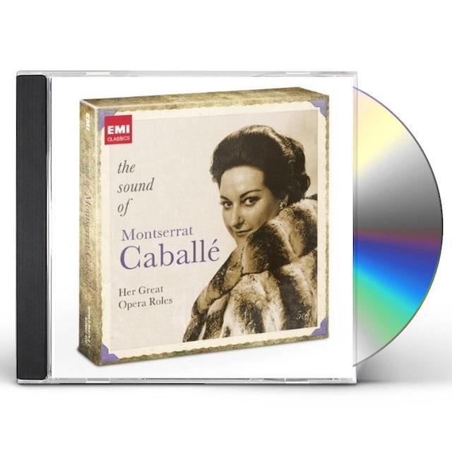 SOUND OF MONTSERRAT CABALLE CD