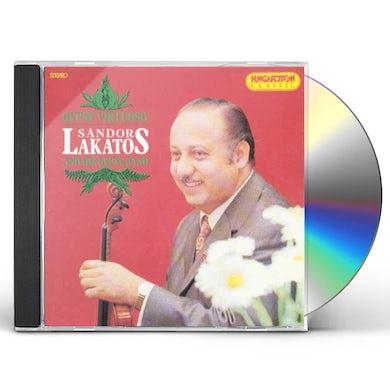 Sandor Lakatos GYPSY VIRTUOSO CD