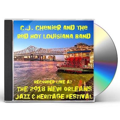 C.J. Chenier LIVE AT JAZZFEST 2018 CD