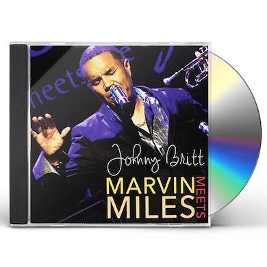 Johnny Britt MARVIN MEETS MILES CD