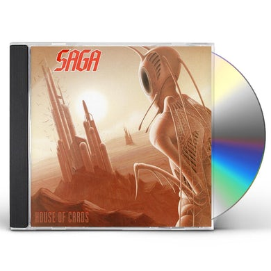Saga HOUSE OF CARDS CD