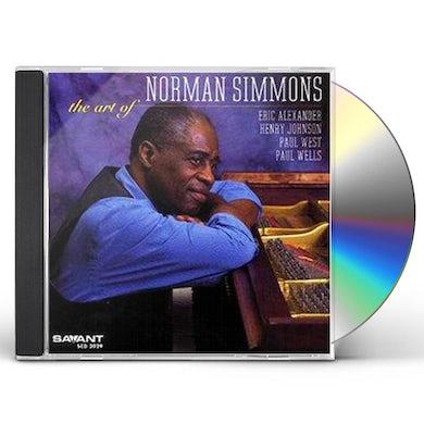ART OF NORMAN SIMMONS CD