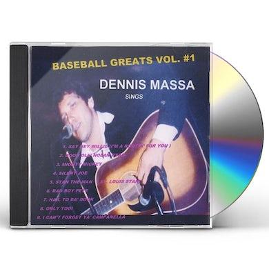 Dennis Massa BASEBALL GREATS 1 CD