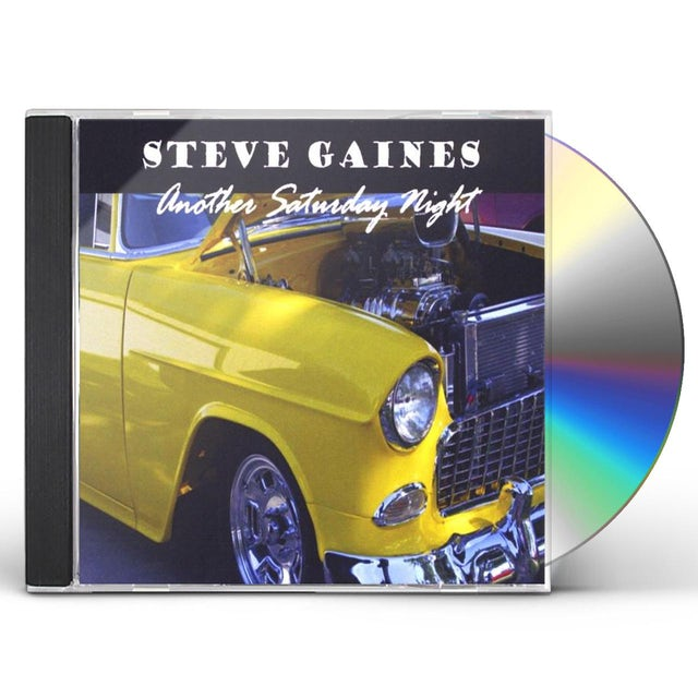 Steve Gaines ANOTHER SATURDAY NIGHT CD