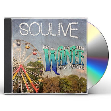 Soulive LIVE AT WANEE 2014 CD