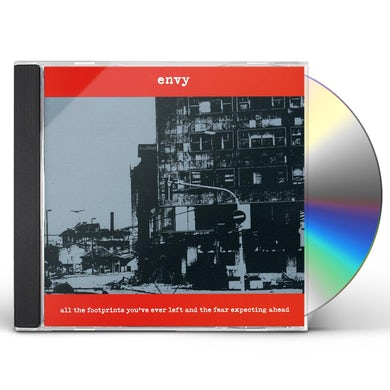 Envy ALL THE FOOTPRINTS YOU'VE EVER LEFT & THE FEAR CD