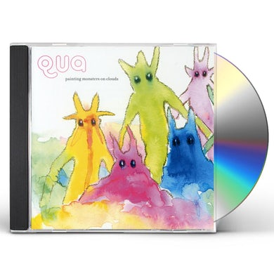 Qua PAINTING MONSTERS ON CLOUDS CD