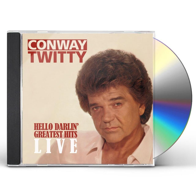 Conway Twitty HELLO DARLIN: GREATEST HITS LIVE CD