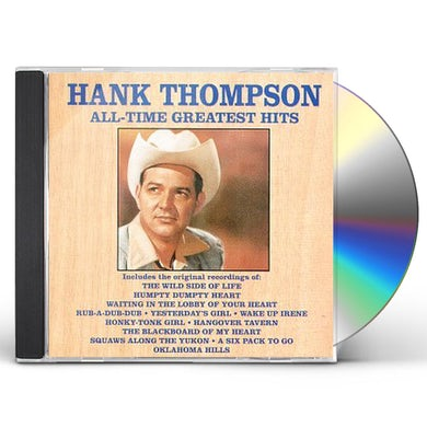 Hank Thompson GREATEST HITS CD