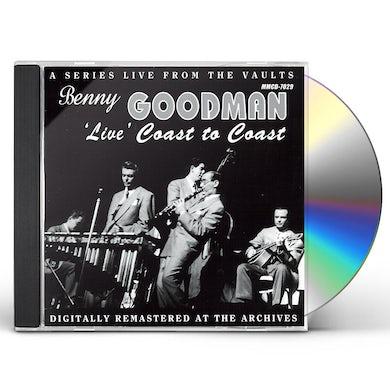 Benny Goodman LIVE COAST TO COAST CD