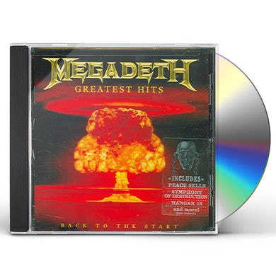 Megadeth GREATEST HITS CD