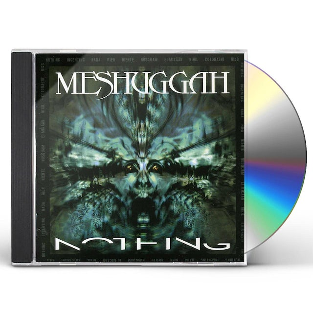 MESHUGGAH NOTHING CD
