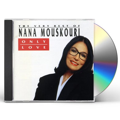 Nana Mouskouri ONLY LOVE: BEST OF CD