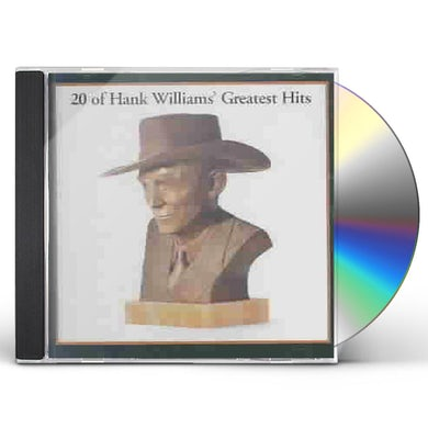 20 Of Hank Williams' Greatest  Hits CD