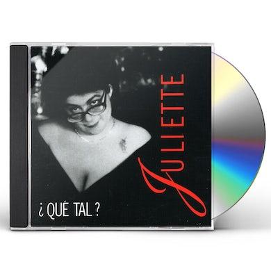 JULIETTE QUE TAL CD