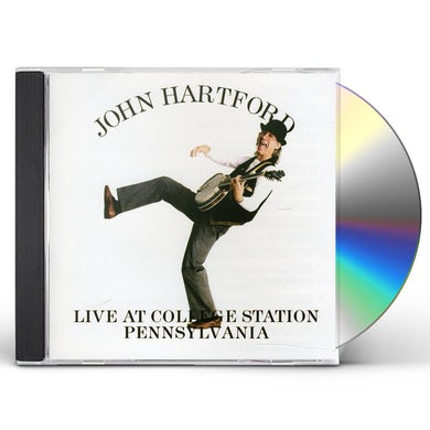 John Hartford LIVE AT COLLEGE STATION PA. CD
