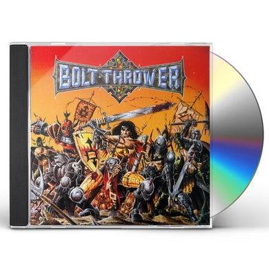 Bolt Thrower WAR MASTER CD