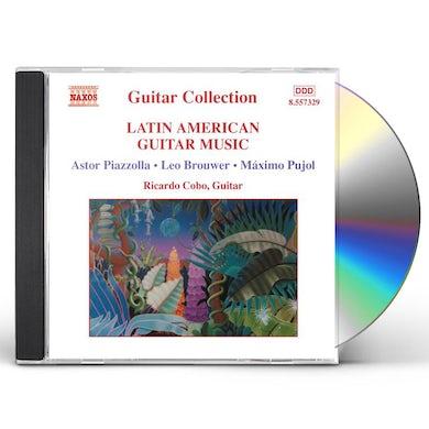 Ricardo Cobo LATIN AMERICAN GUITAR MUSIC CD
