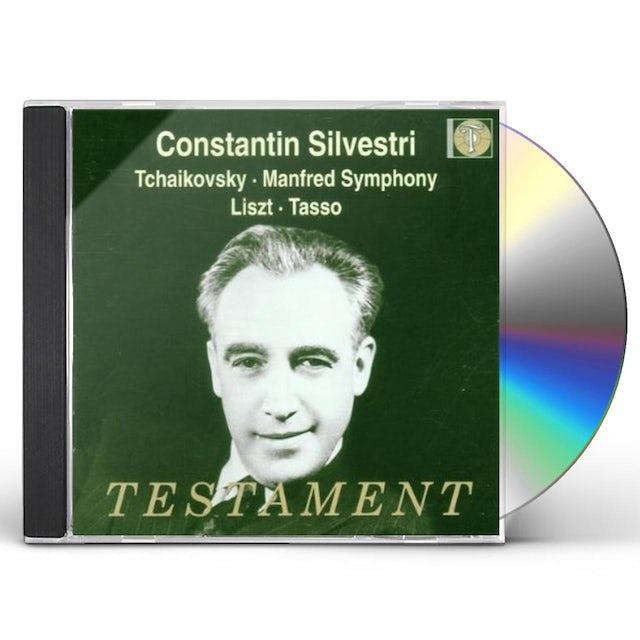 P.I. Tchaikovsky MANFRED SYMPHONY CD