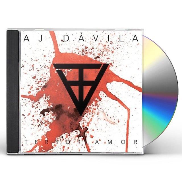 Aj Davila TERROR AMOR CD
