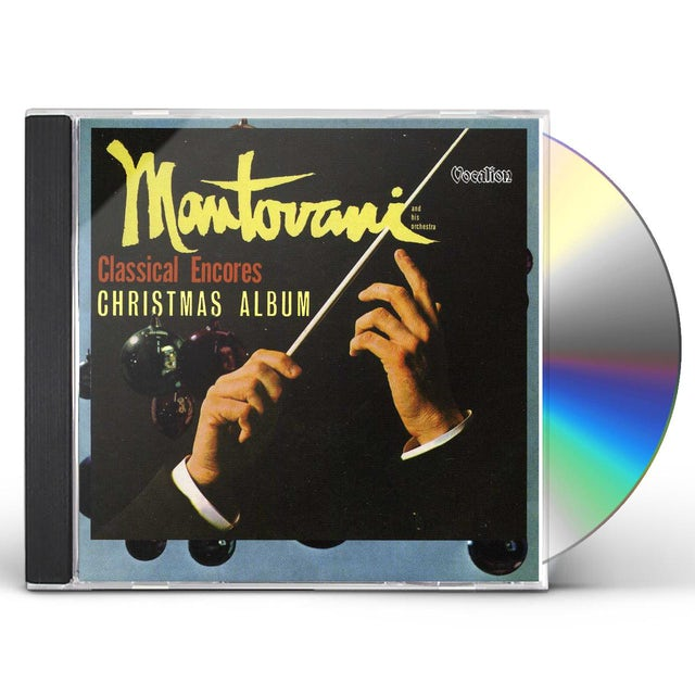 Mantovani & His Orchestra CLASSICAL ENCORES & CHRISTMAS ALBUM CD