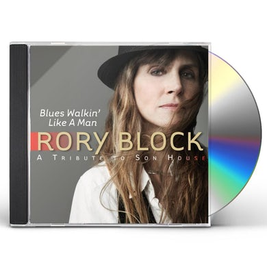Rory Block BLUES WALKIN LIKE A MAN: TRIBUTE TO SON HOUSE CD