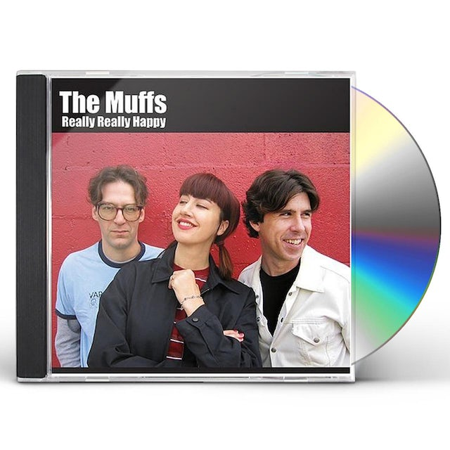 Muffs REALLY REALLY HAPPY CD