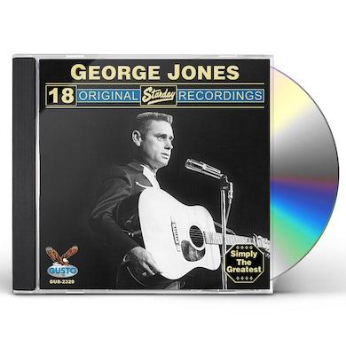 George Jones 18 ORIGINAL STARDAY RECORDINGS CD
