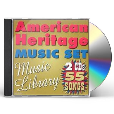 American Heritage 55 SONGS: MUSIC LIBRARY CD