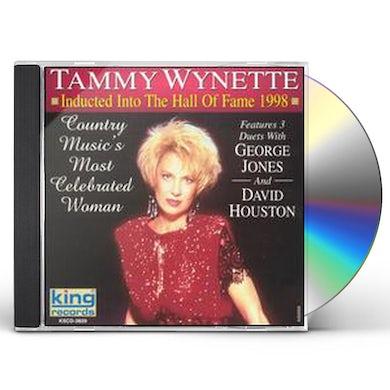 Tammy Wynette HALL OF FAME 1998 CD