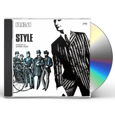 Gianni Oddi STYLE CD