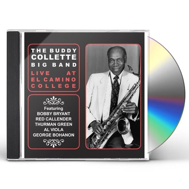 Buddy Collette LIVE AT EL CAMINO COLLEGE CD