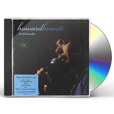 Howard Hewett INTIMATE: GREATEST HITS LIVE CD