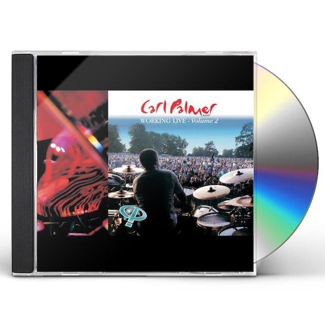 Carl Palmer WORKING LIVE VOLUME 2 CD