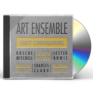 Art Ensemble Of Chicago EARLY COMBINATIONS CD