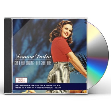 Deanna Durbin CAN'T HELP SINGING: HER GREAT HITS CD