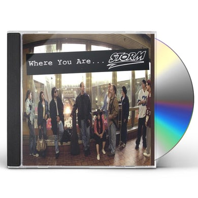 Storm WHERE YOU ARE CD