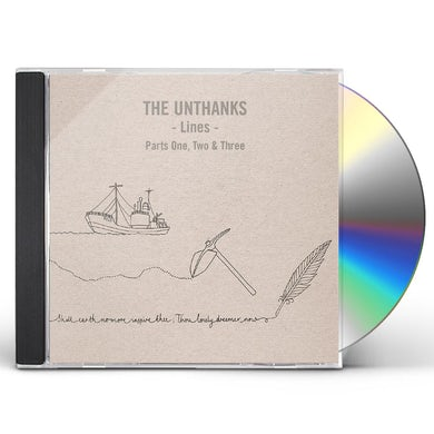 THE UNTHANKS LINES PARTS ONE TWO AND THREE CD